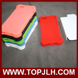 3D Sublimation Rubber 2 in 1 Case for iPhone 4/4s pictures & photos
