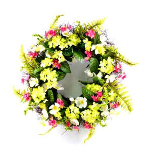 Mixed Flower Wreath Artificial Handmade Home & Office Wall Decor pictures & photos