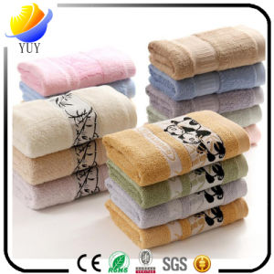 Cotton Customized Pattern Warm and Soft Face Towel Bath Towel pictures & photos