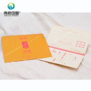 Customized Gold Stamping Greetings Cards Printing pictures & photos