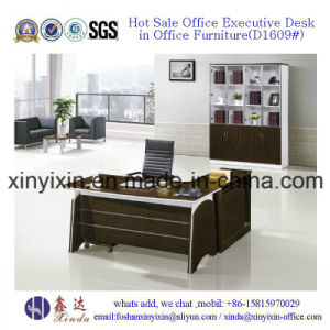 L-Shape Manager Office Table Modern Melamine Office Furniture (M2601#) pictures & photos