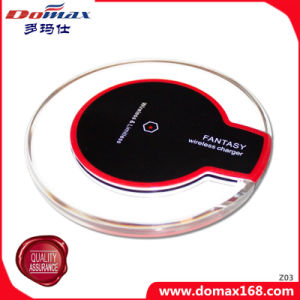 Mobile Phone Gadget Smart Power Portable Qi Enabled Travel Wireless Charger for Samsung Galaxy S6 pictures & photos