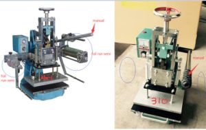A4 Size Manual Hot Stamping Machine Bronzing Machine pictures & photos