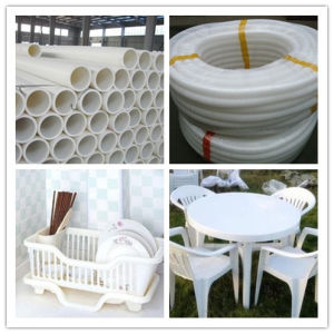 China Plastic Rutile TiO2 White Masterbatch Manufacturer for PE Agriculture Film PP Injection PVC Pipe pictures & photos