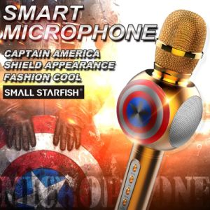 Ss-M2 Music Player Spekaer Karaoke KTV Wireless portable Mini Microphone pictures & photos
