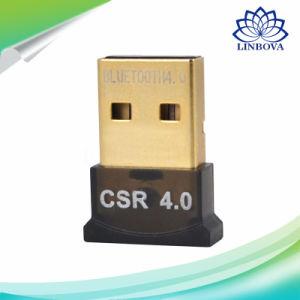 Dual-Mode Transmission Wireless USB Bluetooth Adapter Bluetooth Receiver Bluetooth Dongle pictures & photos