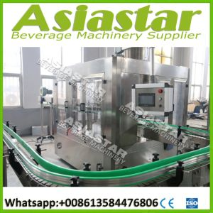 Fully Automatic Beverage Soda /Mineral /Spring Water Filling Machine pictures & photos