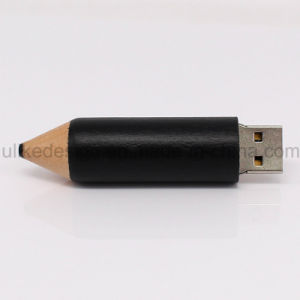 Wooden Pencil Style USB Flash Drive (UL-W021) pictures & photos