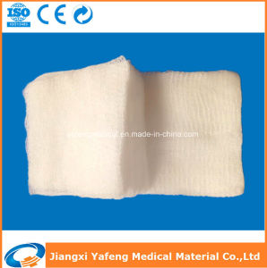Absorbent Gauze Piece for Medical Use pictures & photos