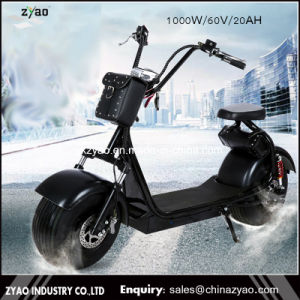 Cheap Li-ion Battery Fat Tire off Road Stand up 2 Wheel Electric Scooter, Electric Motorcycle for Adult Use pictures & photos
