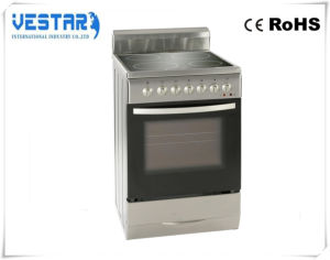 White Electrical Oven with Steel Plate Stove Gas Range and Sale pictures & photos