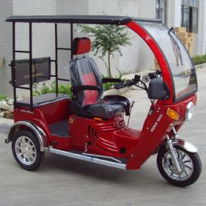 One Back Passenger Handicapped Tricycle for Gasoline pictures & photos