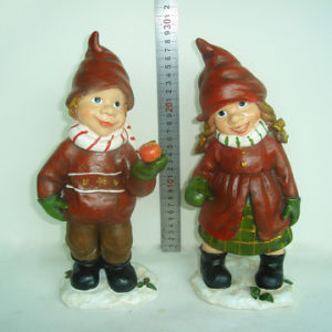 Wholesale Lovely Garden Ornaments Resin Angel Figurines for Home pictures & photos
