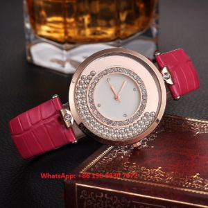 Simple Fashionable Quartz Women′s Watch with Leather Strap Fs662 pictures & photos