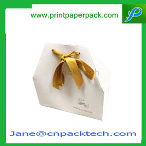 Fancy Design Paper Gift Box with Ribbon Rigid Cardboard Box pictures & photos
