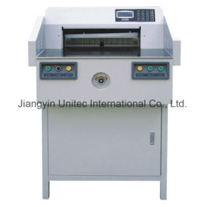 Innovative Products Hydraulic Paper Cutting Guillotine Machine Bw-520V pictures & photos