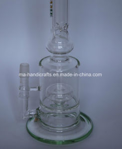 """12"""" Matix Percolator Glass Water Pipes Smoking Pipe Glass Tobacco Pipe pictures & photos"""