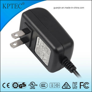 12V/1A/12W AC/DC Switching Power Adapter Supply with USA Standard Plug pictures & photos