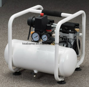 Tat-0908fh 1.0HP 8L Tank Handcarry Oil Free Silent Air Compressor pictures & photos