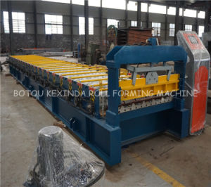 Trapzoidal Roofing Sheet Roll Forming Machine pictures & photos