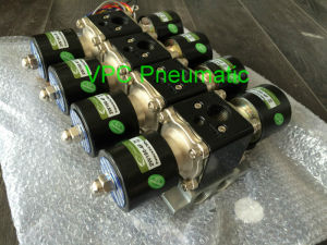"Air Ride Suspension Valve 3/8""NPT Brass Electric Solenoid Valve with Slow Down Dump pictures & photos"