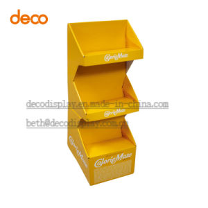 Paper Display Rack Floor Display Stand Promotion Cardboard Display Stand pictures & photos