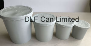 Plastic Paint Mixing Cup with Lid (0.2 liter) pictures & photos