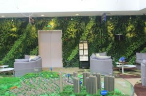 Artificial Green Plants Wall Panel System pictures & photos