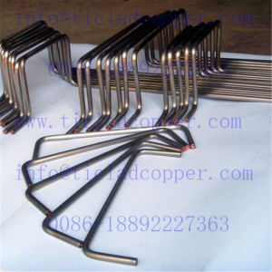 Gr2 Titanium Clad Copper Pipe/Tube Anode for Electroplating pictures & photos
