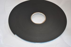 8mm Black Double Sided PVC Foam Tape Coating Acrylic Adhesive pictures & photos
