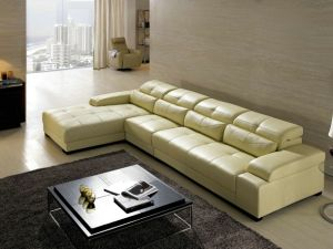 China Good Quolity Low Price Leather Sofa 853 pictures & photos