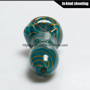 Colored Smoking for Glass Pipes DAB Wax Spoon Hand Pipe Tobacco Pocket Hookah pictures & photos