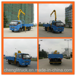 Dongfeng 4X2 180HP Knuckle Crane Truck pictures & photos