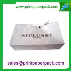 Bespoke Printed Shopping Kraft Paper Bag pictures & photos