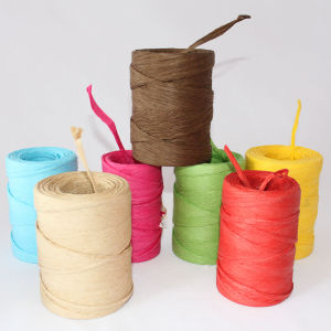 Customized Colorful Raffia in Roll pictures & photos