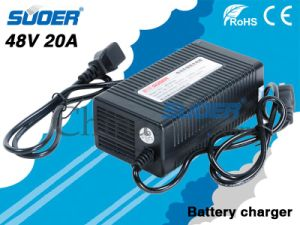 Suoer Car Battery Charger 20A 48V Portable Charger for Electric Vehicle (MB-4820A) pictures & photos