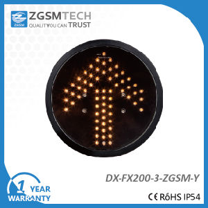 200mm 8 Inch Yellow Arrow Signal Light pictures & photos