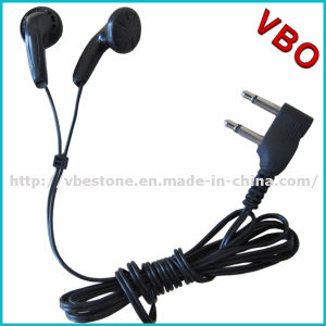 Free Sample Dual Pin Disposable Airline Earphone Headsets pictures & photos