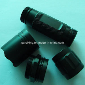 CNC Machining for Various Aluminum Flahlight Accessories pictures & photos