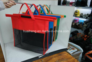 Supermarket Folding Reusable Trolley Shopping Bag Grocery Trolley Bag pictures & photos