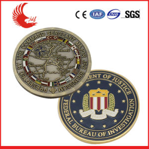 Custom Stamping Metal Ancient Gold Coins pictures & photos
