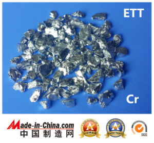 Evaporation Material Cr Tablet Chrome Chromium pictures & photos