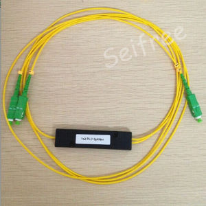 FTTH Fiber Optical PLC Splitter 1X2 with SA Connector pictures & photos