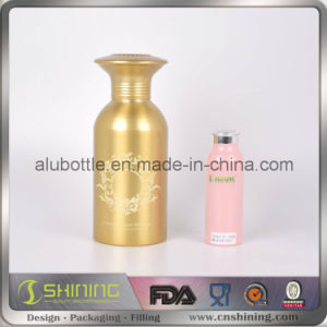 Pink Aluminum Talc Powder Bottle