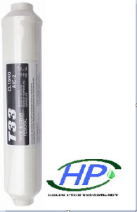 Colorful T33 Post Carbon Filter for Water Treatment pictures & photos