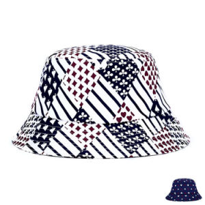 Fashion Poker Printed Cotton Twill Bucket Hat (YKY3209) pictures & photos