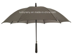 Straight Promotional Auto Open Umbrella Printing Logo
