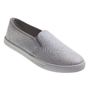 Glitter Mesh Upper Injection Shoes for Women pictures & photos