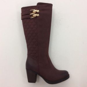 New Style Chuncky Heel Women Boot (S 11) pictures & photos