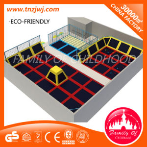 Large Kids Cheap Fitness Indoor Trampoline Park in Guanghzou Manufacturer pictures & photos